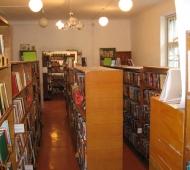 Библиотека в здании музыкальной школы