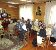 Дни православной книги для прихожан храма Иконы Божией матери Владимирской