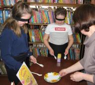 День смеха в библиотеке.