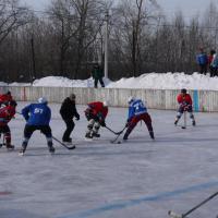 Хоккейный матч 23 февраля 2016 года