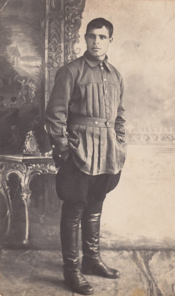 Фёдор Филиппович Колобков. 1925 год.