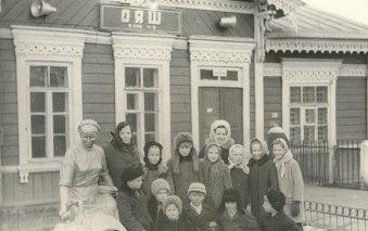 Здание вокзала в годы советской власти