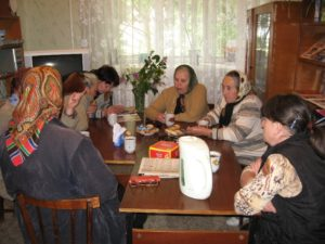 Встреча ветеранов труда
